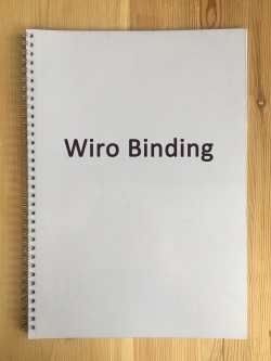 thesis binding manchester